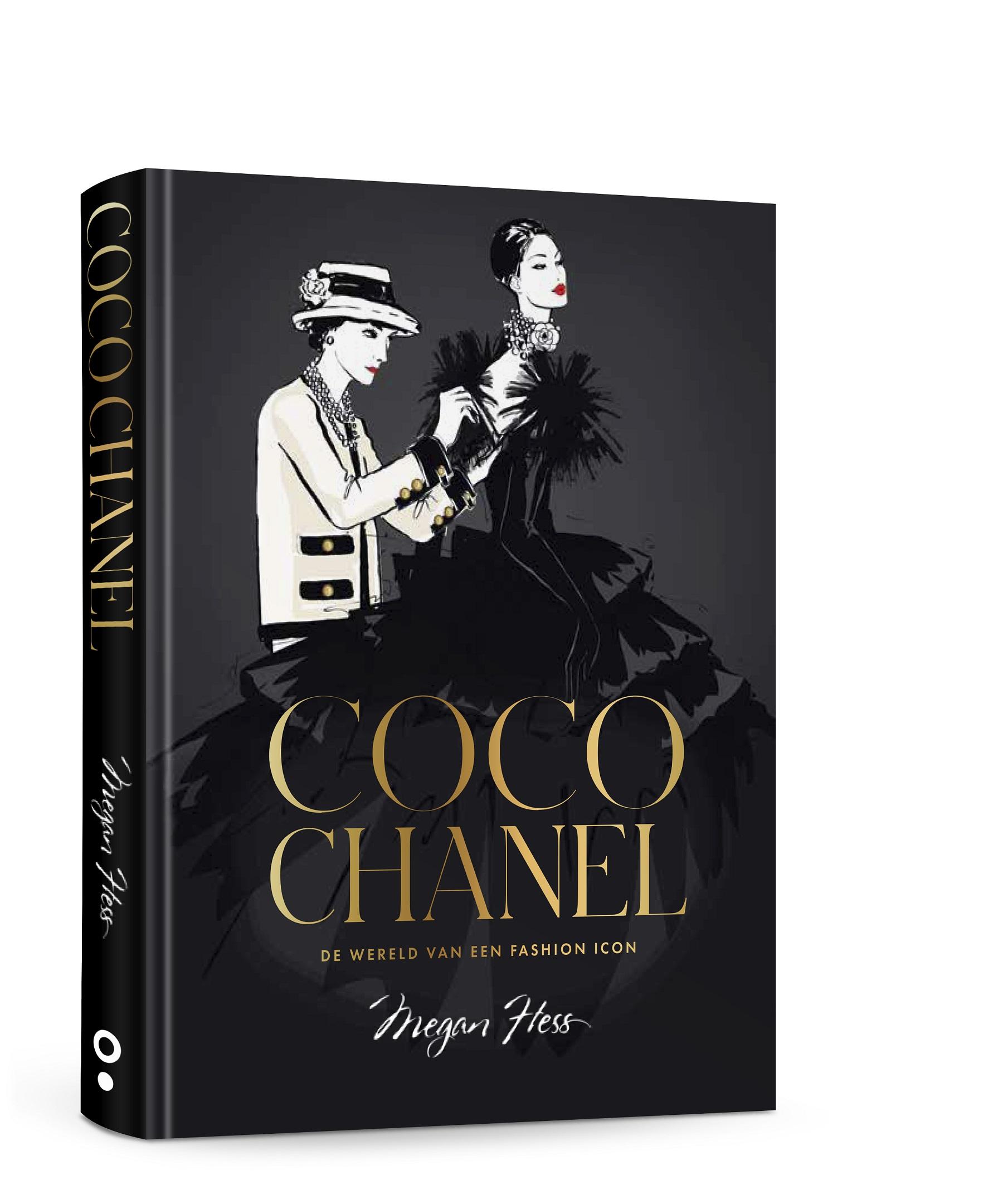Coco Chanel | De wereld van een fashion icon | Auteur: Megan Hess | ISBN: 9789021584577 | Prijs: €24,99 | Verschijnt op 28 september 2021