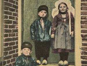 Noord-Brabant. Wrs. uitg. Berkers Verbunt Asten N.Br., ca. 1917