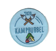 Kampbadge Kampbubbel 2020 (tent)
